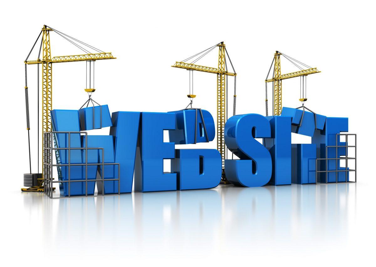 3d illustration website build
