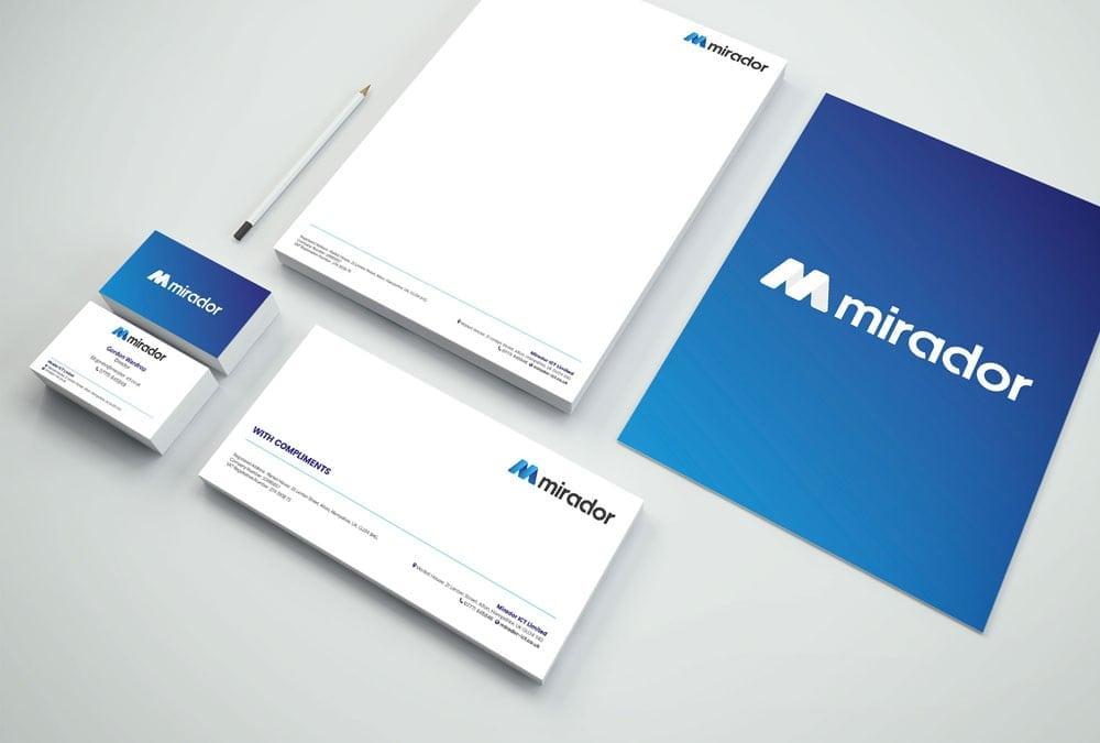 mirador branding