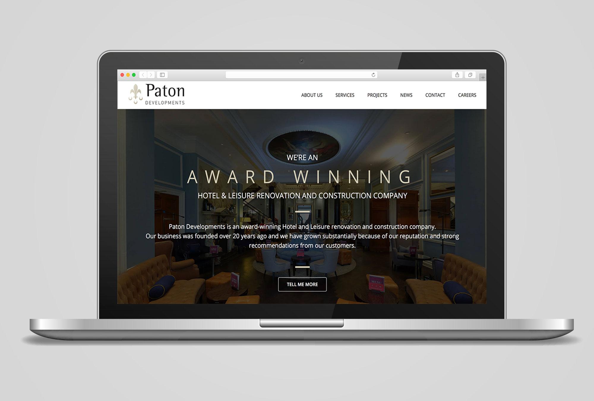 paton developments website