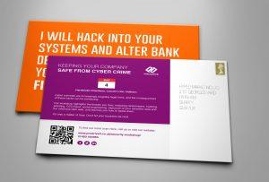 Pro Drive IT event invite postcards