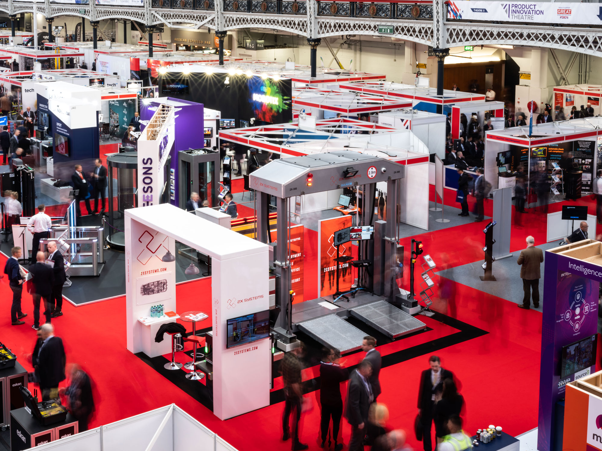 2X Systems Exhibition Stand