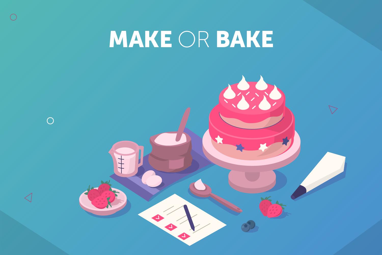 make or bake