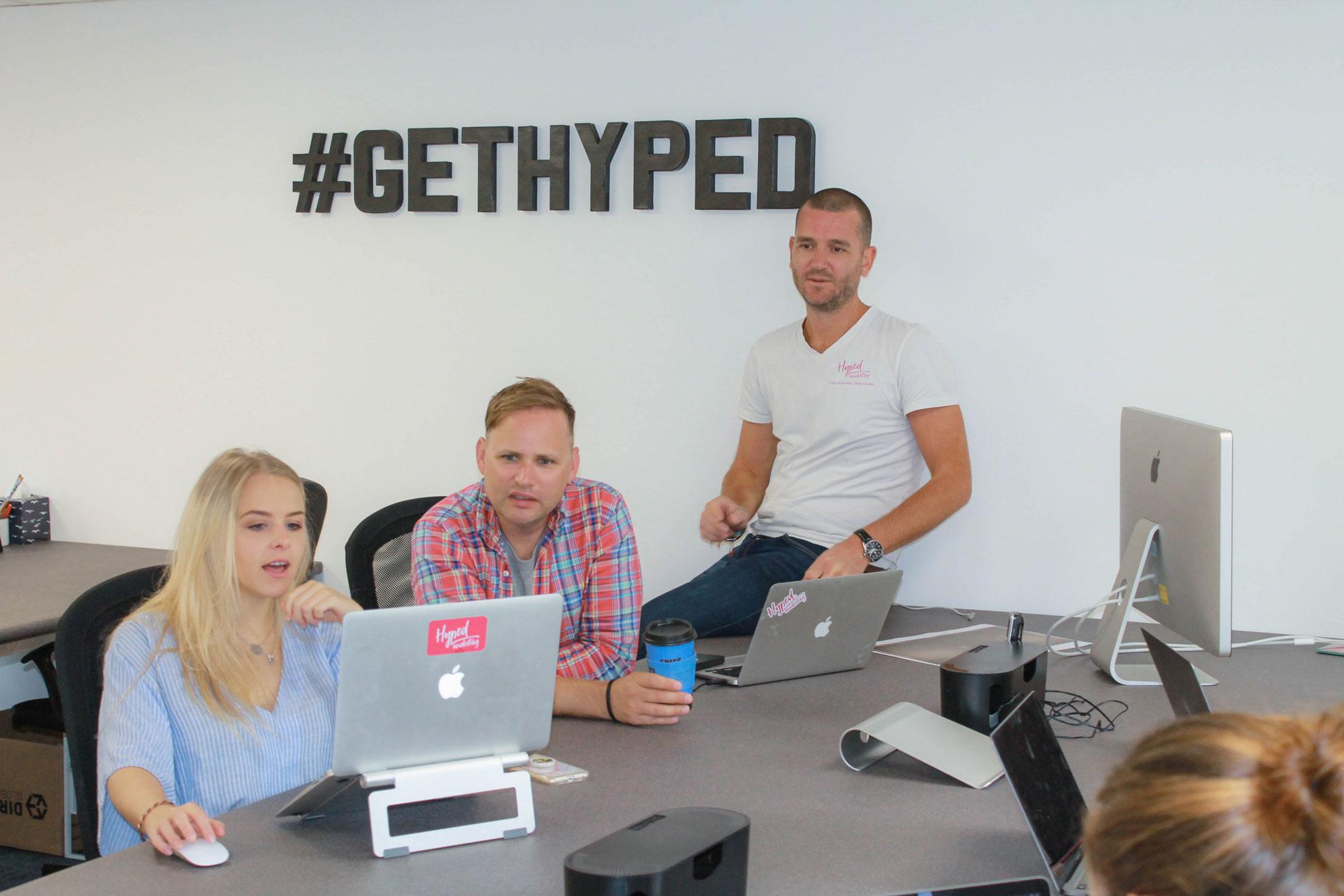 Hyped Marketing Team